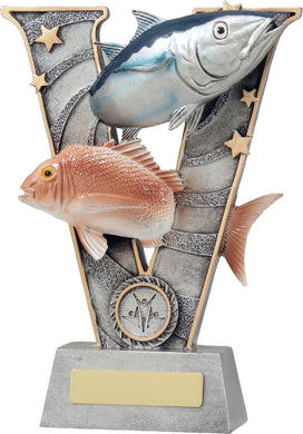 21403CV Series Fishing Trophy Coloured resin. Pickup locally at Gold Coast Trophies near Robina QLD or ship Australia wide.