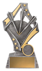 Flag Theme Darts Trophy