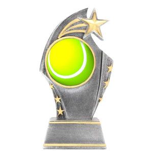 Yellow Tennis Ball Trophy