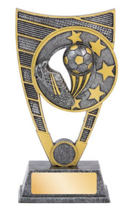 Atomic Series Soccer Trophy