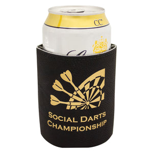 Leatherette Beer Can Coozie