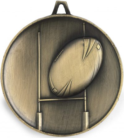 Rugby Medal - Heavy Weight 62mm
