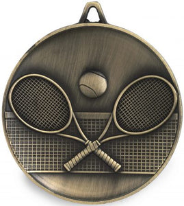 Tennis Medal - Heavy Weight 62mm