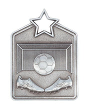 Load image into Gallery viewer, Soccer Star Medal - Rectangle Shape