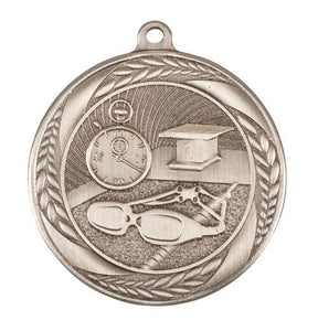 Swimming Wreath Design Medal - 55mm