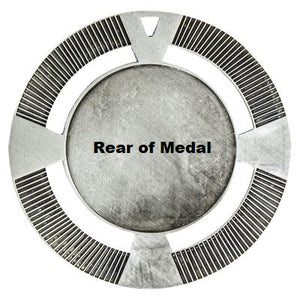 Athletics Varsity Medal - 65mm