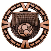 Load image into Gallery viewer, Soccer Varisty Medal - 65mm