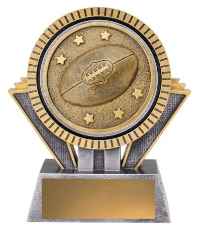 SR131A Spartan AFL / Aussie Rules Series Offer a Bold & Distinctive Extra Heavy 3D Enhanced Design, Engraving & Logo included. Gold Coast Trophies Burleigh Heads