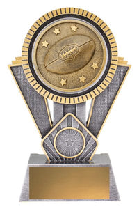 SR131C Spartan AFL / Aussie Rules Series Offer a Bold & Distinctive Extra Heavy 3D Enhanced Design, Engraving & Logo included.  Gold Coast Trophies Burleigh Heads