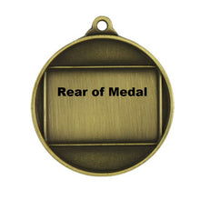Load image into Gallery viewer, Sunrise Medal Back Gold, Silver or Bronze, engraving available on back.