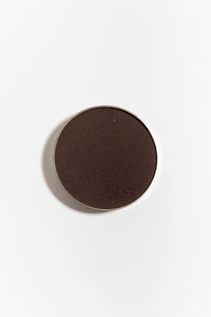 Eye shadow pan in Chocolate Brown