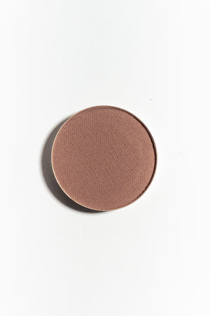 Eye shadow pan in Soft Brown