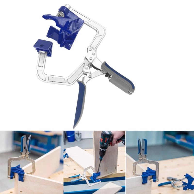 The 10x Tool™ 90 Degree Corner Clamp – Must Have Woodworking Tool
