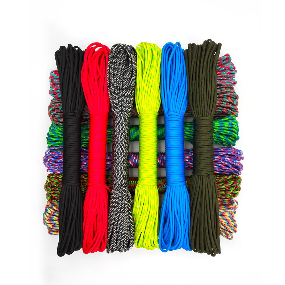 31 Meters 9 Strand 4mm Diameter Paracord Camping Rope