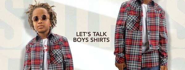 LET'S TALK BOYS SHIRTS - ruffntumblekids