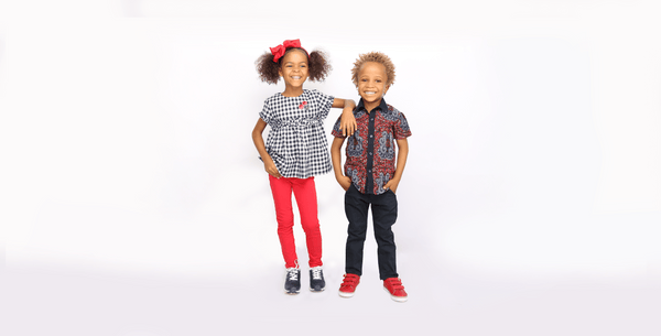 fashion for kids, ankara for kids
