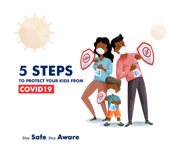 5 steps to take protect your kids from Covid-19 - ruffntumblekids