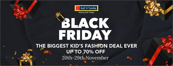 RUFF N TUMBLE BLACK FRIDAY - THE BIGGEST KID'S FASHION DEAL EVER - ruffntumblekids