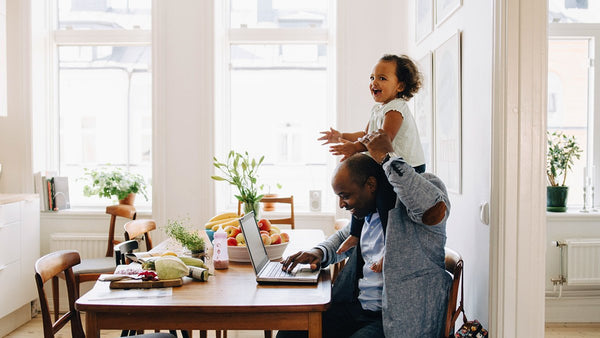 5 effective ways you can be productive working from home with your kids - ruffntumblekids