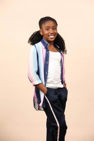 Athleisure sporty clothes for kids