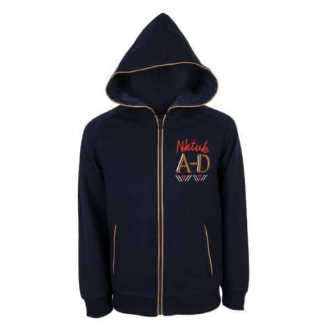 deep blue sweatshirt for kids