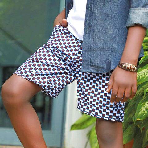Boys ankara shorts
