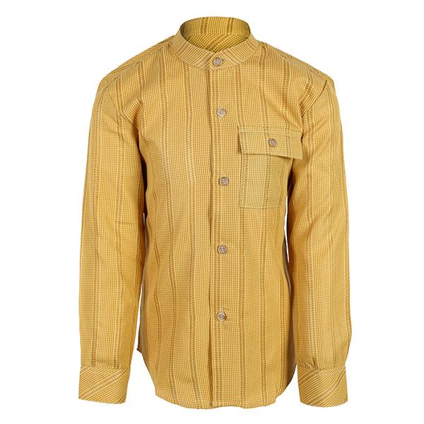 YELLOW MANDARIN SHIRT