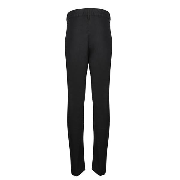 BLACK REGULAR CHINO TROUSER