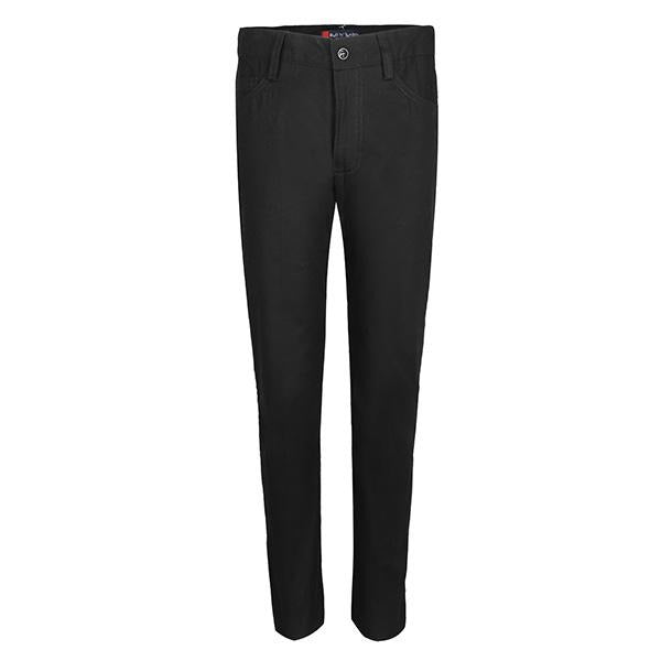 black plain trouser/pants-ruffntumblekids.com