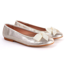 Gold Soft Patent Formal Ballerina