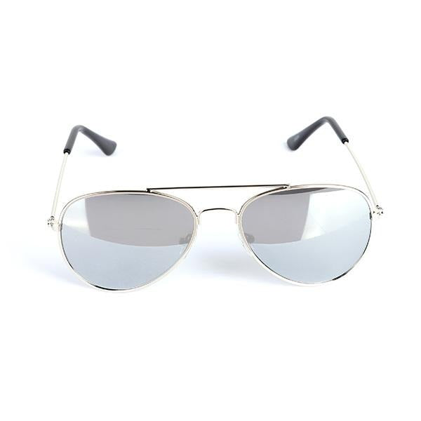 SILVER BOY'S AVIATOR SUNGLASS