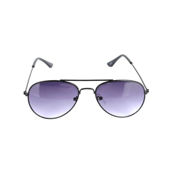BOYS BLACK AVIATOR SUN GLASS - ruffntumblekids