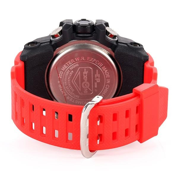 BOYS BLACK/RED HUGE MAN WRIST WATCH - ruffntumblekids