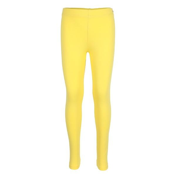 YELLOW LONG BASIC LEGGINGS - ruffntumblekids