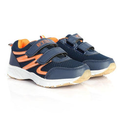 NAVY VELCRO SNEAKERS