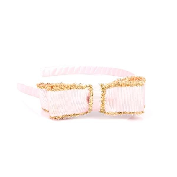 PINK/GOLD ALICE BAND