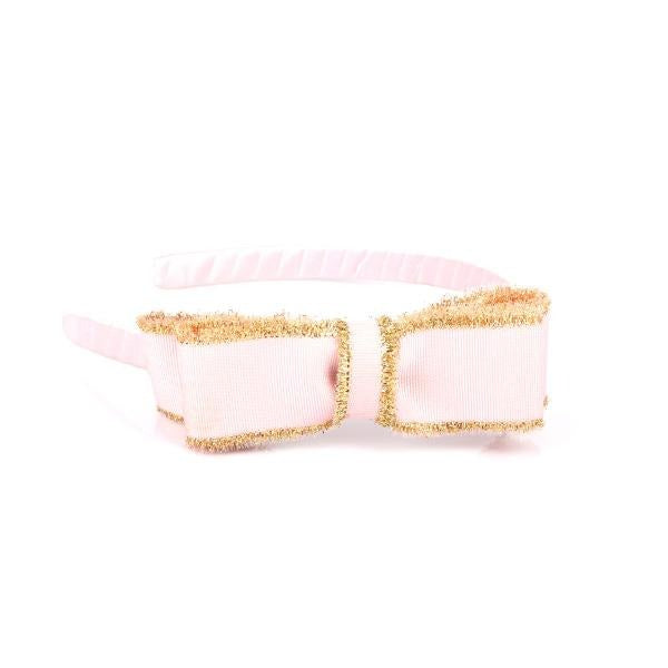 PINK/GOLD ALICE BAND - ruffntumblekids