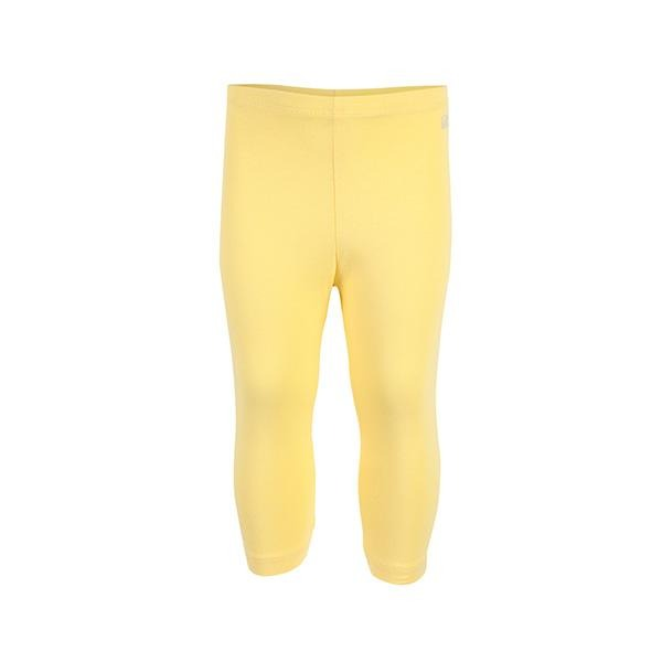 YELLOW BASIC SHORT LEGGINGS