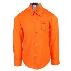 orange long sleeve shirt-ruffntumble