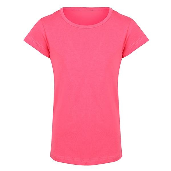 PINK PLAIN BASIC TSHIRT