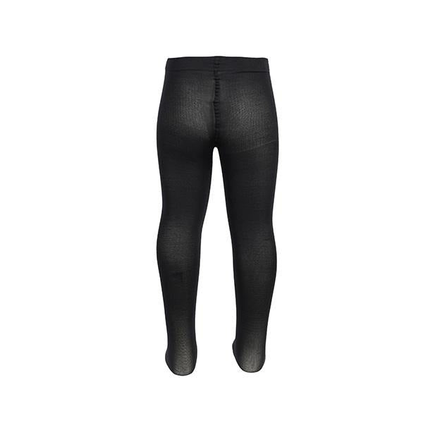 BIG GIRLS BLACK MICROFIBRE TIGHT - ruffntumblekids