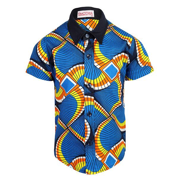blue ankara shirt-ruffntumble