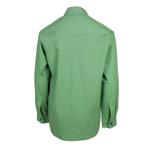 Green long sleeve shirt_Ruffntumble