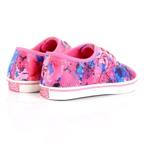 GIRLS MULTI-COLOR VANS LIKE SNEAKERS