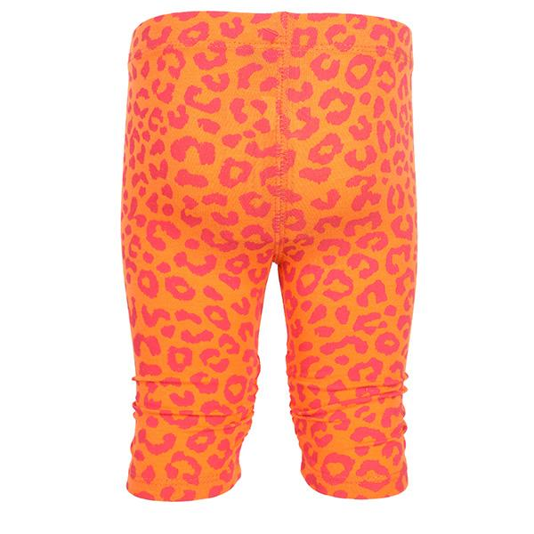 BABY GIRLS ORANGE LEGGINGS WITH PRINTS - ruffntumblekids