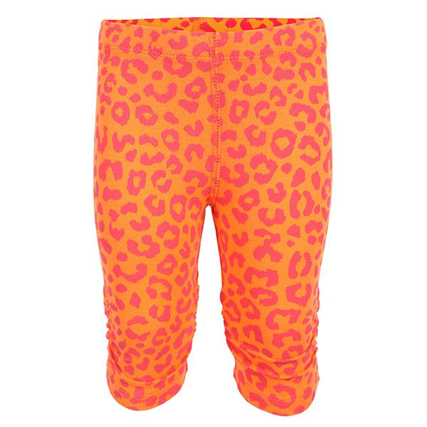 BABY GIRLS ORANGE LEGGINGS WITH PRINTS_ruffntumblekids