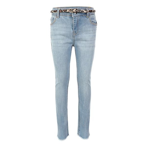GIRLS DENIM TROUSER - ruffntumblekids