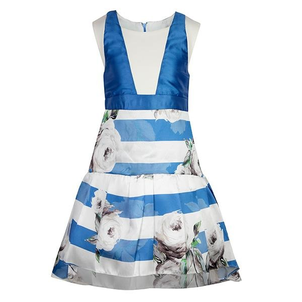 girls round neck dress_ruffntumblekids