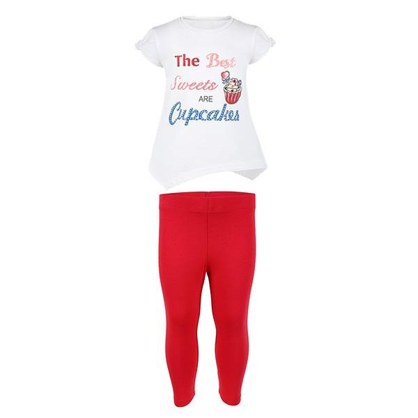 GIRLS RED LEGGING SET - ruffntumblekids