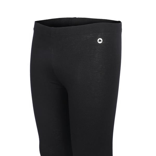 BIG GIRLS BLACK ELASTANE LEGGINGS - ruffntumblekids